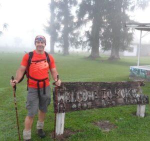 Rob starts Kokoda Trail