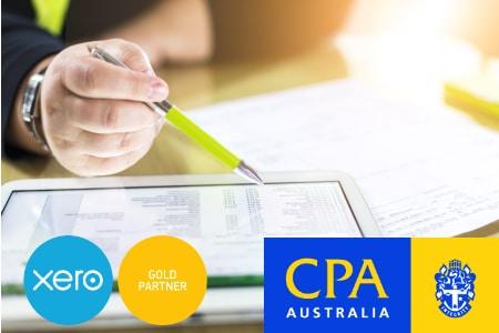 bookkeeping accountant xero logo CPA australia McAdams Siemon Brisbane