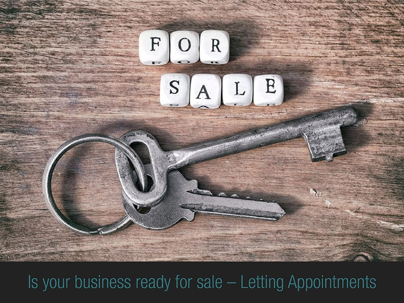 Letting appointments tips if you're selling your management rights business