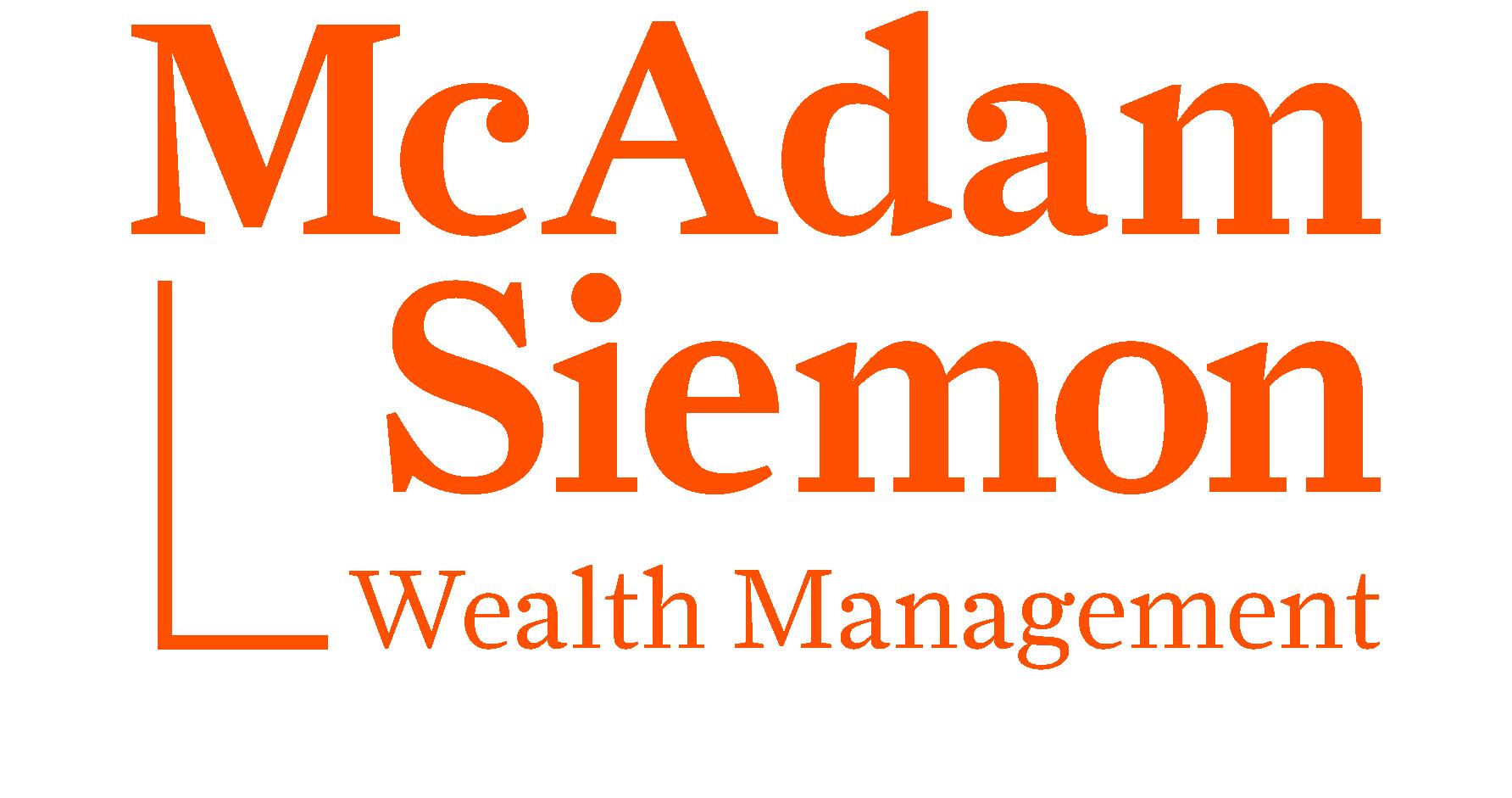 mcadam siemon wealth management logo